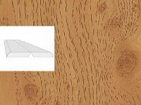 Угол складной Дуб сучковатый темный 2600x28x28мм 1/40шт