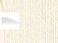 Угол складной Ясень Белый 2600x28x28мм 1/40шт
