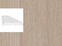 Угол складной Сосна Перламутровая 2600x28x28мм