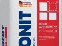 Плитонит В 5кг клей для плитки для внутренних-наружных работ