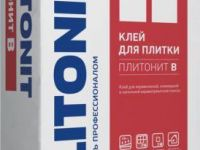 Плитонит В 25кг клей для плитки для внутренних-наружных работ