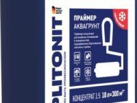 Плитонит АкваГрунт 3л. Праймер-концентрат для влажных помещений