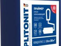 Плитонит Грунт Упрочняющий 10л Праймер-концентрат