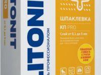Плитонит КПpro 20кг Финишная шпаклевка на полимерной основе